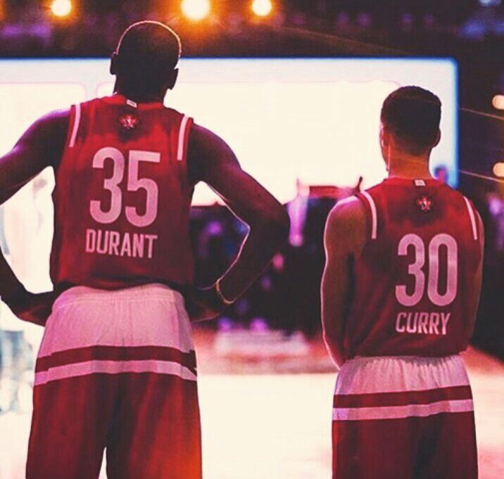 Stephen Curry Kevin Durant Need I say more?