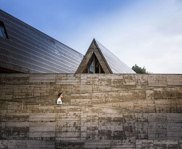 Çin'de Anıtsal Bir Kültür Merkezi