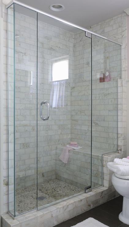 White tiled shower room ceramic tile shower ideas home depot floor tile with wood tile floring - Beauteous image of bathroom design and decoration using various ikea bathroom shelves ...