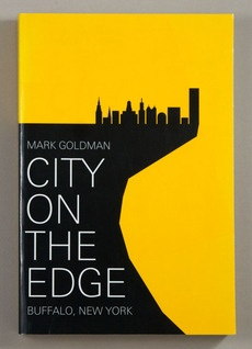 Brilliantly simple, silhouetted cover design for Mark Goldman's City on the Edge