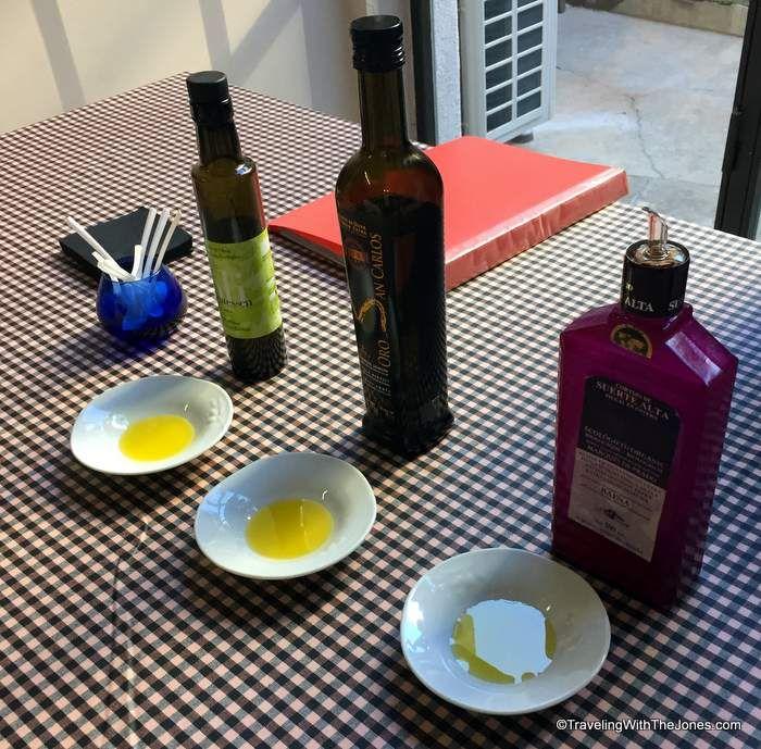 olive oil tasting, Devour Barcelona Food Tour