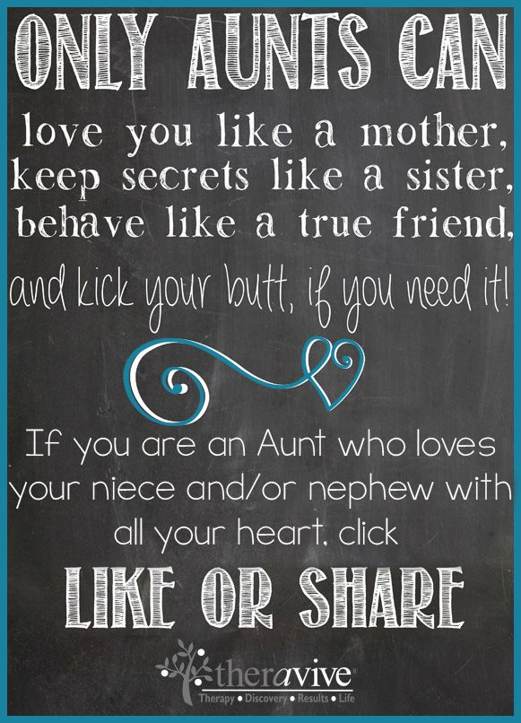 only aunts can share if you love your niece or nephew