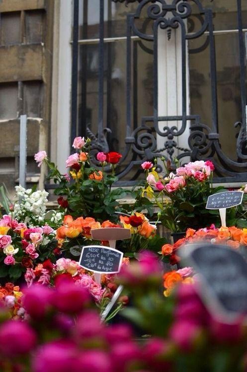 Reims Flower Market, France