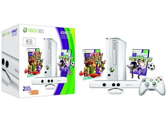 Limited edition white Xbox 360 Kinect bundle on the way | Microsoft is releasing a special edition white version of the Xbox 360 4GB Kinect bundle in May. Buying advice from the leading technology site