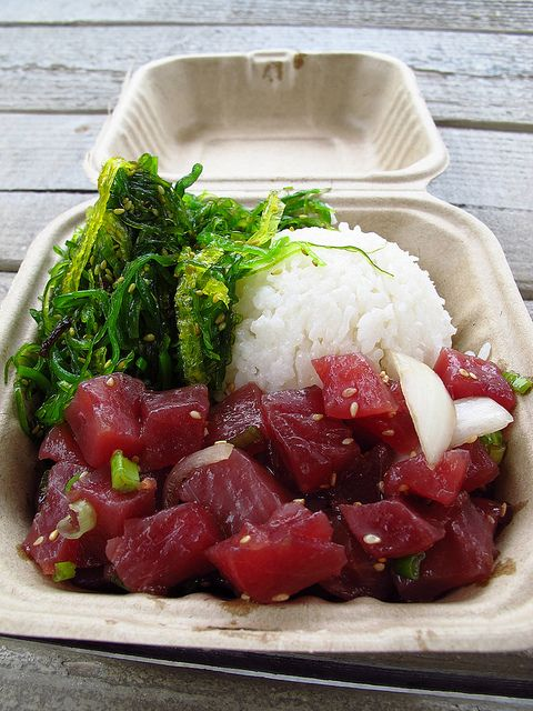 Ahi tuna poke at Da Poke Shack in Kailua-Kona, Hawaii (Big Island)... | Flickr - Photo Sharing!