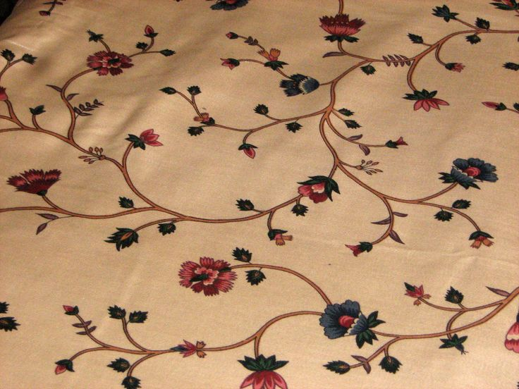 """Decorative Fabric by Waverly - """"A View from the Island"""" Mackinac Collection - """"Woods End"""" Screen Printed Cotton - Extra Wide 106 in x 2.8 yd by RoseAltheasNook on Etsy"""