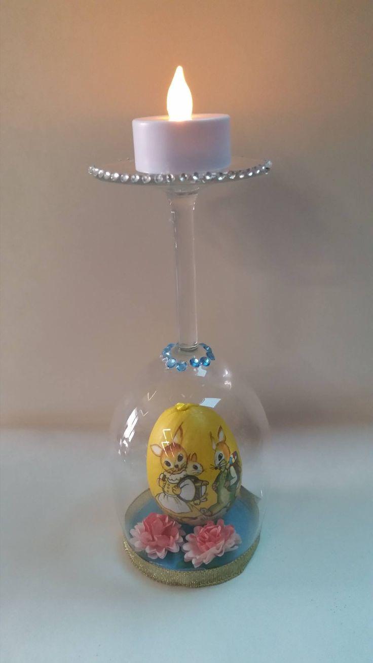 Easter Egg Candle Holder  $ 15.00