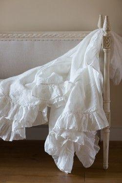 Постельное белье: Простыни льняные