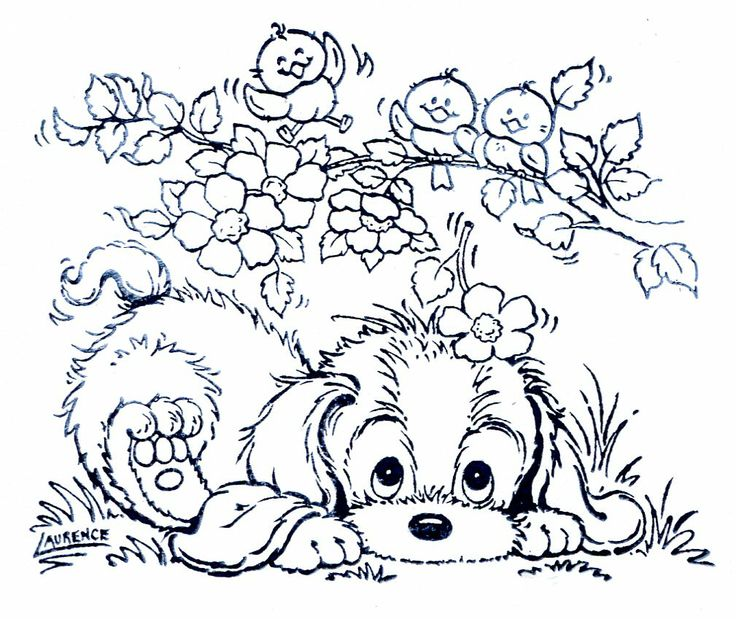 217 best dogs to color images on Pinterest Coloring books - new coloring pages beagle puppies