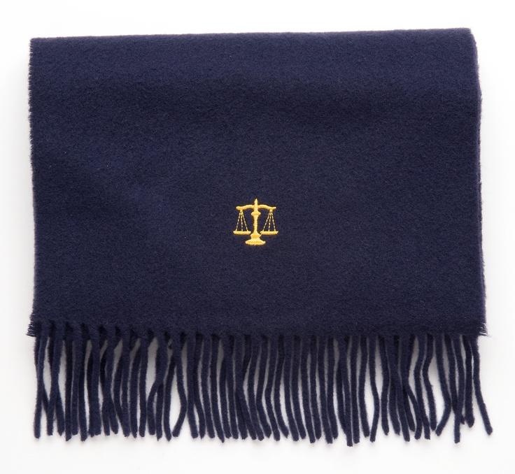 Lawyer scarf