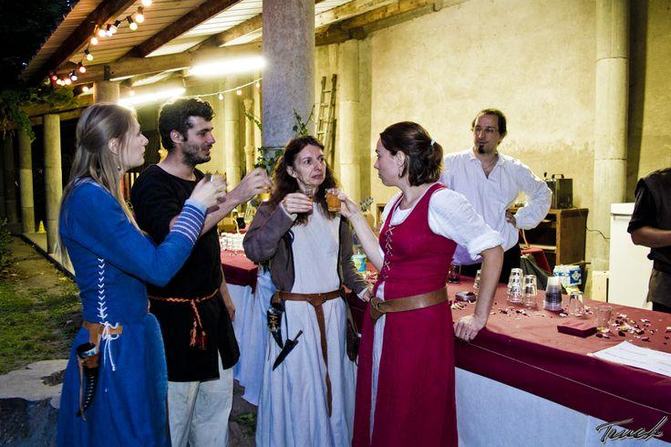 Banquet médiéval de Terres d'Aurea 2015