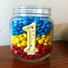 First Birthday Centerpieces on Pinterest