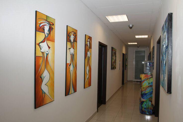 Obrazy v prostorech
