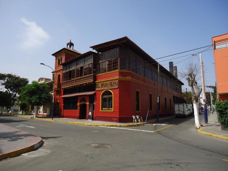 El hornero colonial.