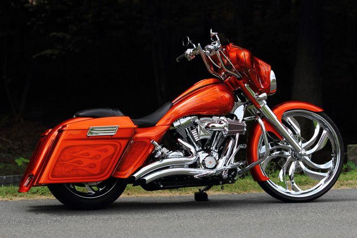 Custom Harley Davidson Bagger The Bike Exchange Harley