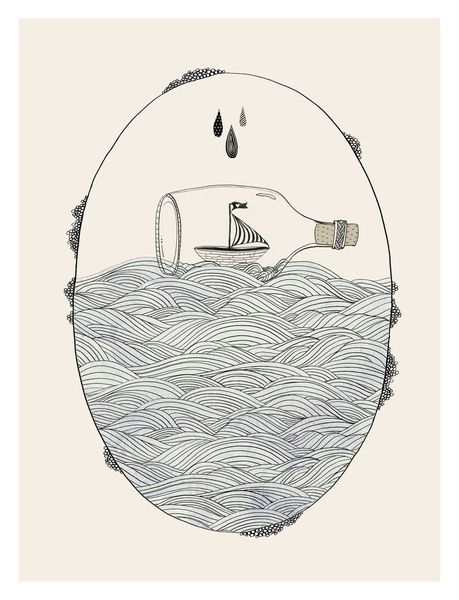 SEABOUND Art Print