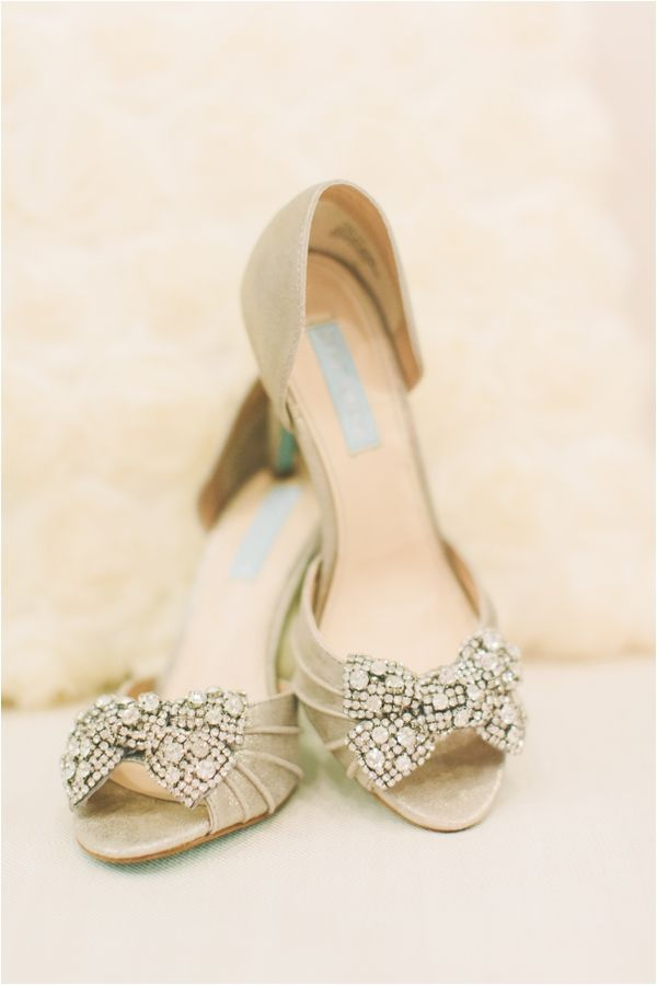 Gold Wedding Shoes Bridal Fashion Photo Katie Lamb Photography
