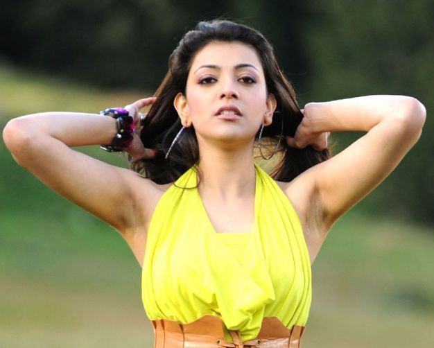 Black Hairy Armpits Of Kajal Agarwal Are Sexy