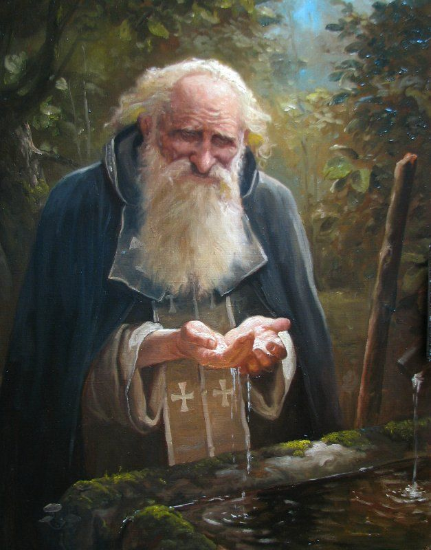 Artist Andrei Shishkin. Russian people of the earth   Paintings and Reproductions