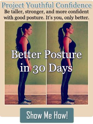 Better Posture in 30 Days Challenge -- Learn 90 exercises that promote good posture