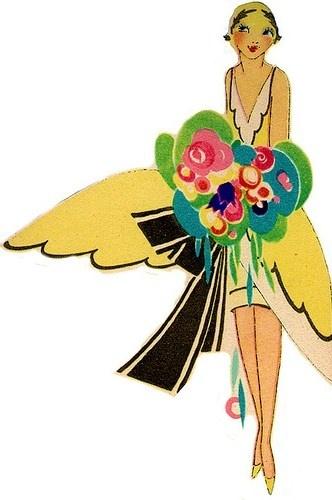 147 best pictures art deco ladies images on pinterest for Art deco illustration