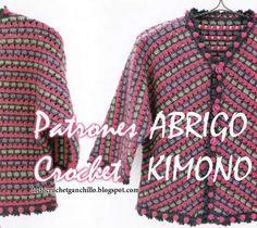graficos de ganchillo kimono