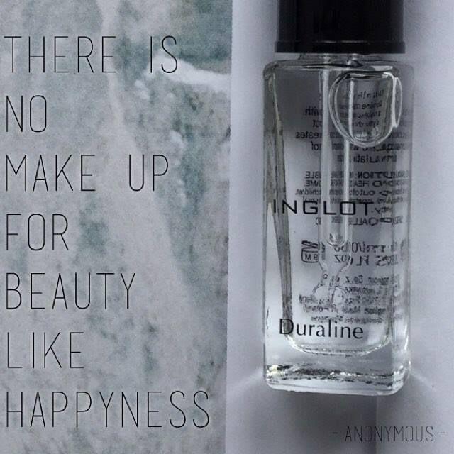 A nossa melhor maquiagem é a felicidade diga lá! Concorda? Não basta um rosto bonito por fora mas tem que ter o sorriso sincero que vem de dentro!  Bom fim-de semana a todos vocês! Diluiente Inglot Inglot: R$8500 SOB ENCOMENDA . . . . . . .. . . . . . . #awesome #perfect #inspiration #esteticafacial #maquiagem #happy #instablog #likeforlike #estetica #yummy #instagood #moda #fashion #tutorial #blogger #followme #nice #hairstyle #style #cupcake #nail #follow #instagram #love #dica #colorful…