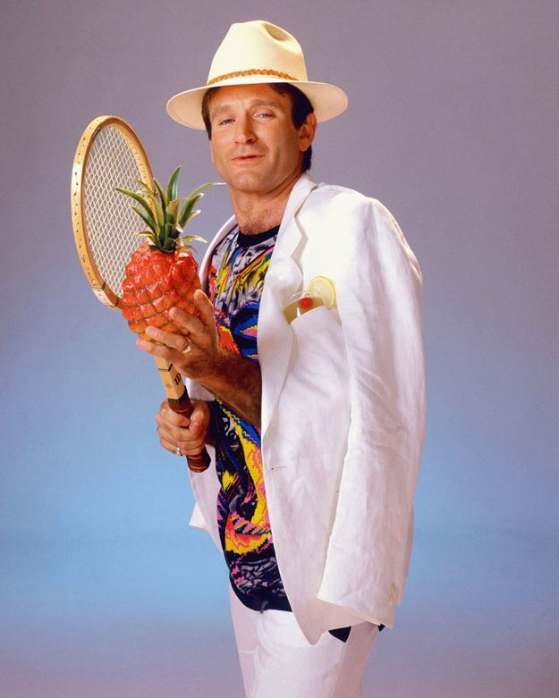 The Eclectic Modeling Career Of Robin Williams