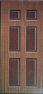 Beaded Door Curtains Bamboo Bead Curtain Drapes Hanging Room Divider Art Wooden