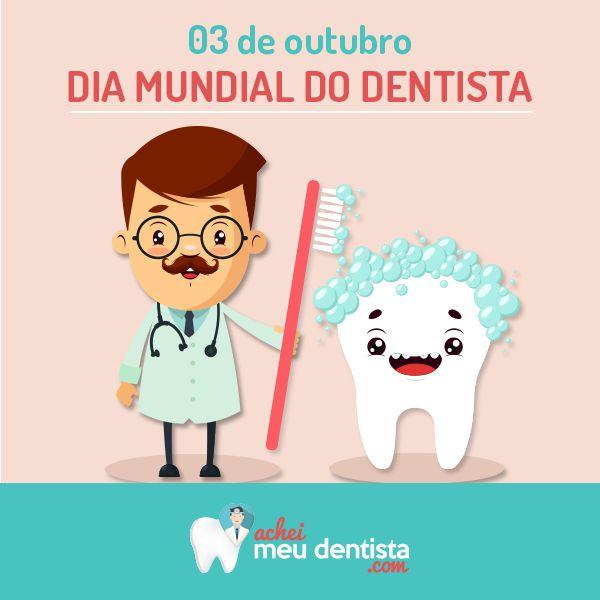 Parabéns a todos os profissionais responsáveis por deixarem nosso sorriso perfeito. Feliz dia do dentista