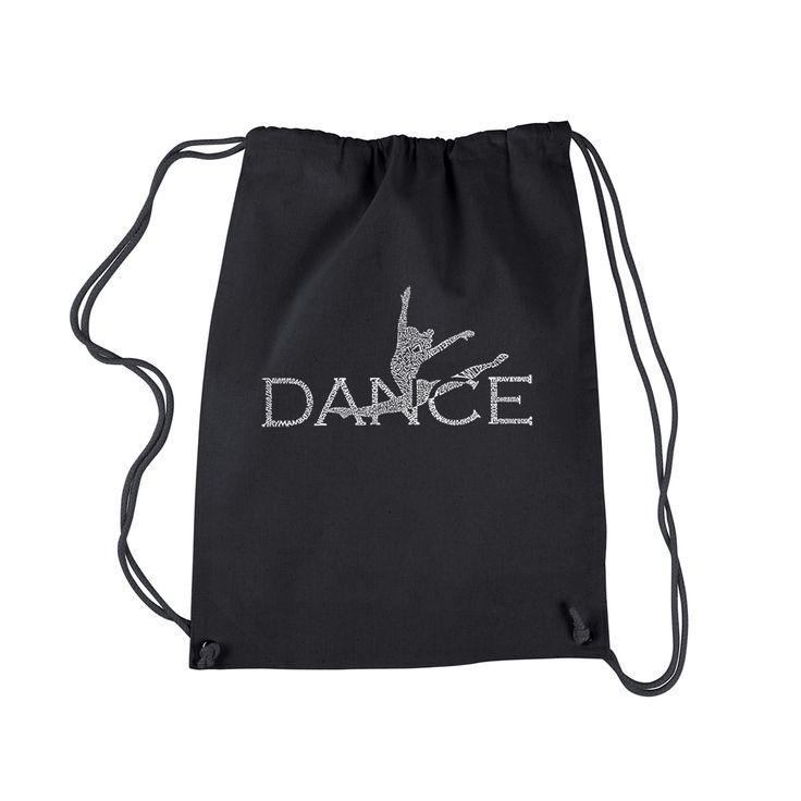 Los Angeles Dance Pop Art Drawstring Backpack