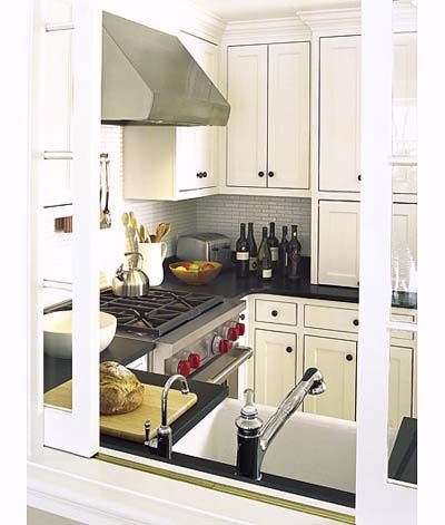 small universal kitchen for Concord TV Project House