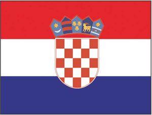 En oferta Bandera Croacia cm. 70 X 100