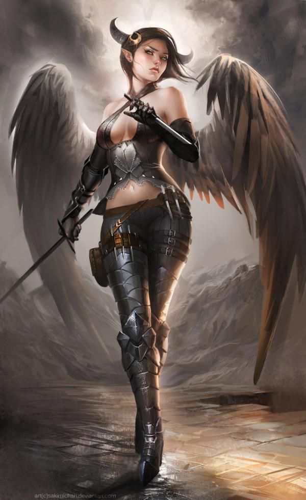female angel warrior pictures - photo #32