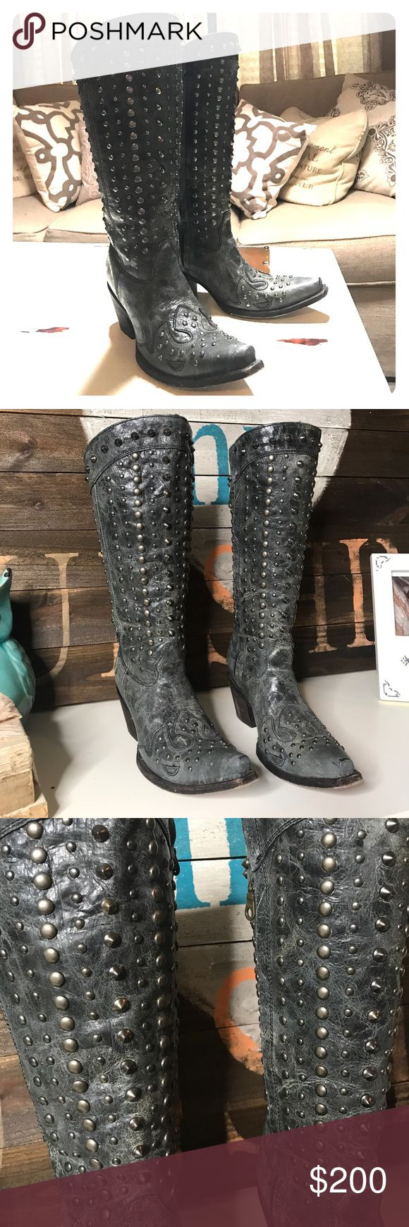 Corral vintage boots Stuffed boots Shoes Heeled Boots