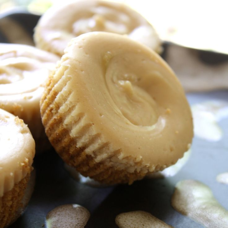 Chocolate Therapy: Individual Peanut Butter Cheesecakes
