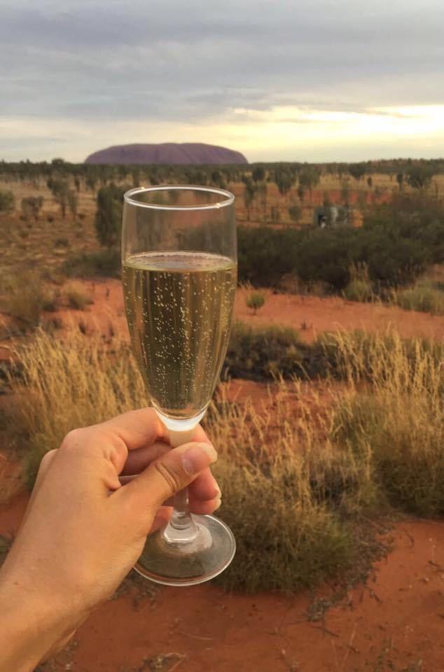 Candlelit dinner in the desert - Uluru, Australia