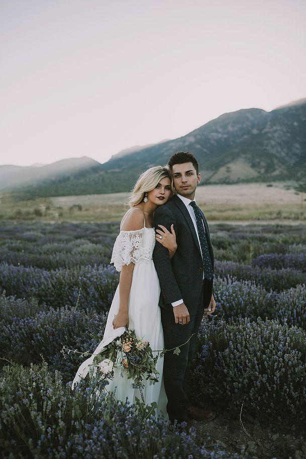 Utah Wedding Photographer, Bridals, Lavender Fields, Summer Taylor Photography