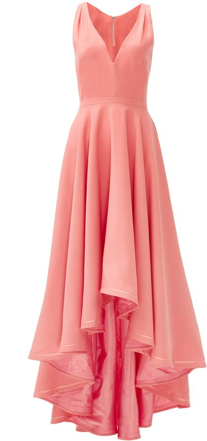 allison parris Coral Marilyn Gown