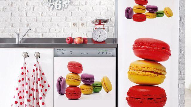 Les 25 meilleures id es concernant stickers pour frigo sur for Stickers pour meuble cuisine