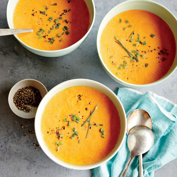 Roasted Red Pepper and Ricotta Soup | Recipe | Make your, The o'jays ...