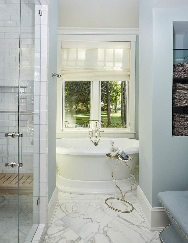 A stunning bathroom featuring pella