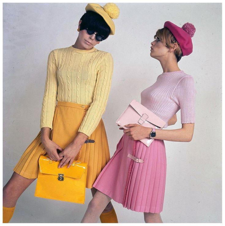 twiggy lawson y peggy moffit. 1971