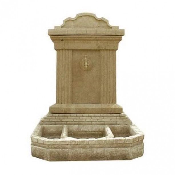 fontaine de jardin en pierre outdoor