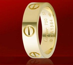 Cartier Yellow Gold Love Ring  $ 35.99