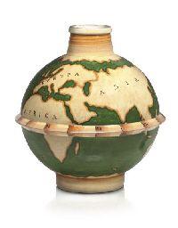 Gio Ponti for Richard Ginori, c. 1929. Le MieTerre vase
