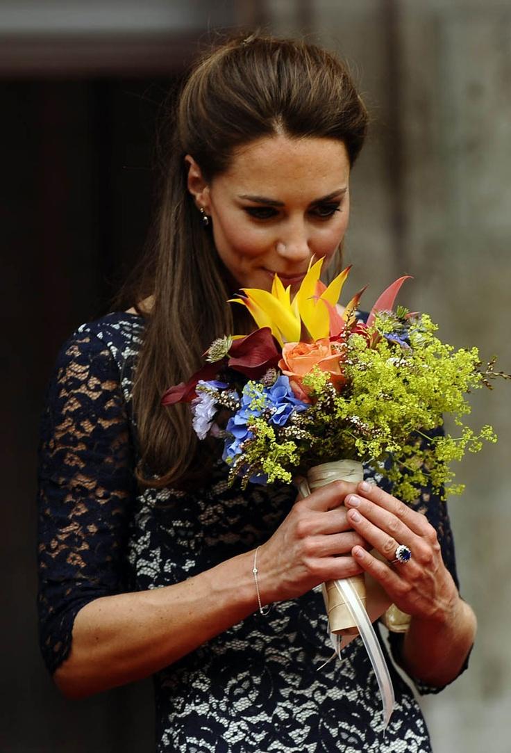 Kate is a flower princess... #KateMiddleton #Duchessofcambridge