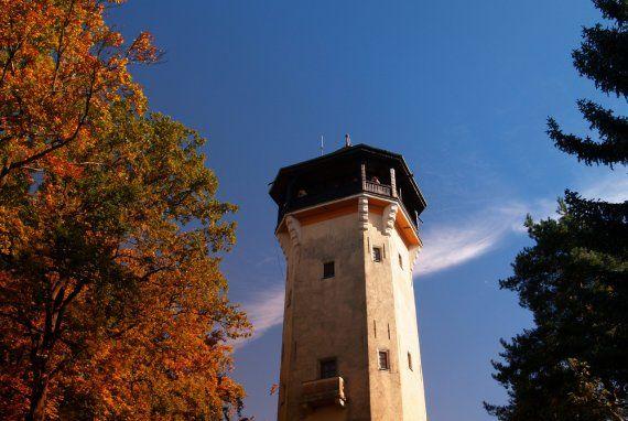 Diana Tower (547 m above the sea level) | Karlovy Vary – průvodce, hotely, lázně, wellness, webkamera ...