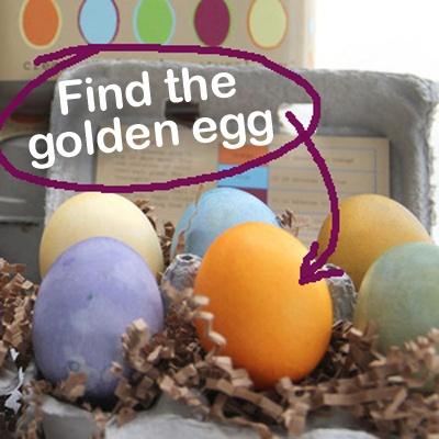 Natural Easter Egg Colouring Kit - Egg Hunt Giveaway!