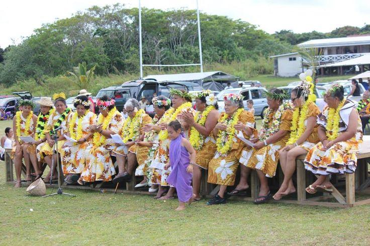 Niue: women of the Alofi North village - show day 2013